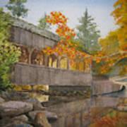 High Falls Bridge Art Print