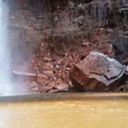 High Falls Emerald Pool Art Print