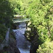 High Falls Gorge Art Print
