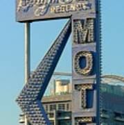 High Hat Motel Las Vegas Art Print