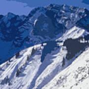 High In The Bavarian Alps Art Print