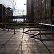 High Line Park Art Print