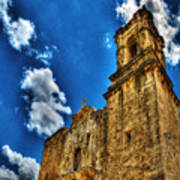 High Noon At The Bell Tower Art Print