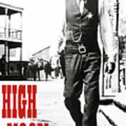 High Noon, Gary Cooper Art Print