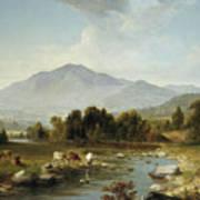 High Point  Shandaken Mountains, 1853 Art Print