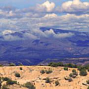 High Road To Taos Panorama Art Print