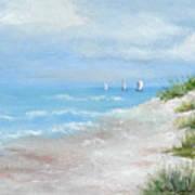 High Sails Art Print by Shirley Lawing