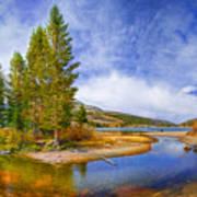High Sierra Heaven Art Print
