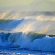 High Tide On The Atlantic Ocean Art Print