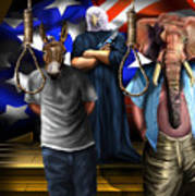 High Treason - State Of The Union-a House Divided1 Art Print