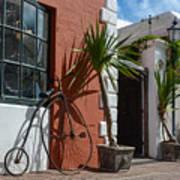 High Wheel Bicycle In Bermuda Art Print