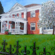 Highland Homestead Art Print