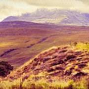 Highland Landscape Art Print