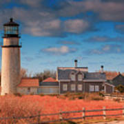 Highland Lighthouse Truro Massachusetts Art Print