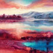 Highland Sunrise Art Print