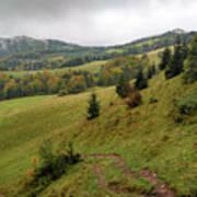 Highlands Landscape In Pieniny Art Print