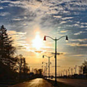 Highway To The Sun Art Print