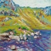 Hiking Near Windermere Art Print