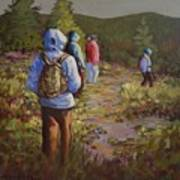 Hiking The Paintbrush Trail, Manning Provincial Park, B. C., Revisited Art Print