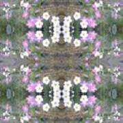Hill Of Flowers Double Art Print