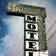 Hillcrest Motel Art Print