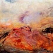 Hills In The Autumn Art Print