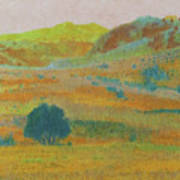 Hills Of Dakota Dream Art Print