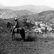 Hills Of Guanajuato - Mexico - C 1911 Art Print