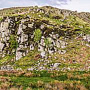 Hills Of Hadrians Wall England Art Print