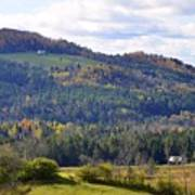 Hills Of Vermont Art Print