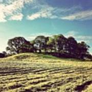 #hills #trees #landscape #beautiful Art Print