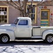 Hillsboro New Mexico 1949 Gmc 100 Art Print