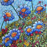 Hillside Blues Art Print