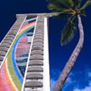 Hilton Hawaiian Village Art Print