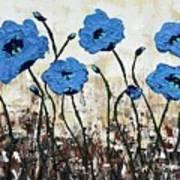 Himalayan Blues Art Print