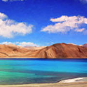 Himalayan Lake Art Print
