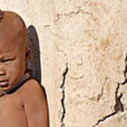 Himba Boy Art Print