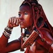 Himba Art Print