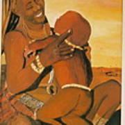 Himba Mom Art Print