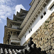 Himeji Castle Tower Art Print