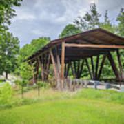 Hindman Memorial Covered Bridge Art Print