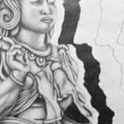 Hindu Goddess Art Print