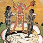 Hindu Goddess: Kali Art Print