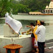 Hindu Offering Art Print