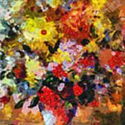 Hint Of Klimt Art Print