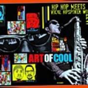 Hip Hop Meets Vocal Hipspoken' Word Jazz Art Print