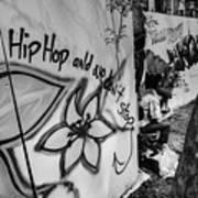 Hip Hop We Don't Stop Art Print