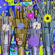 Hippie Hippie Straws Art Print