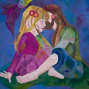 Hippie Love Art Print