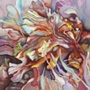 Hippocampe Rouge Art Print